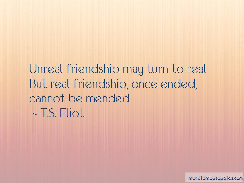 Mended Friendship Quotes
