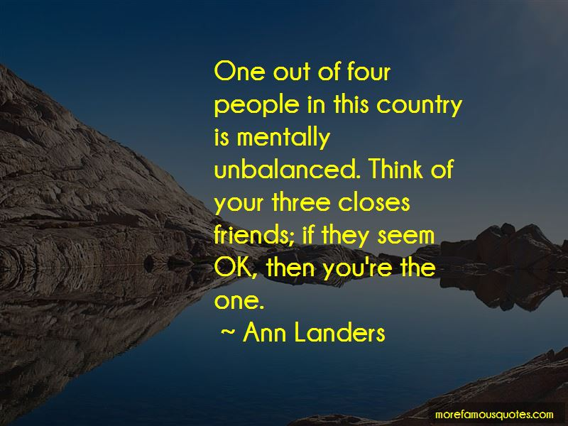 Mentally Unbalanced Quotes Pictures 2