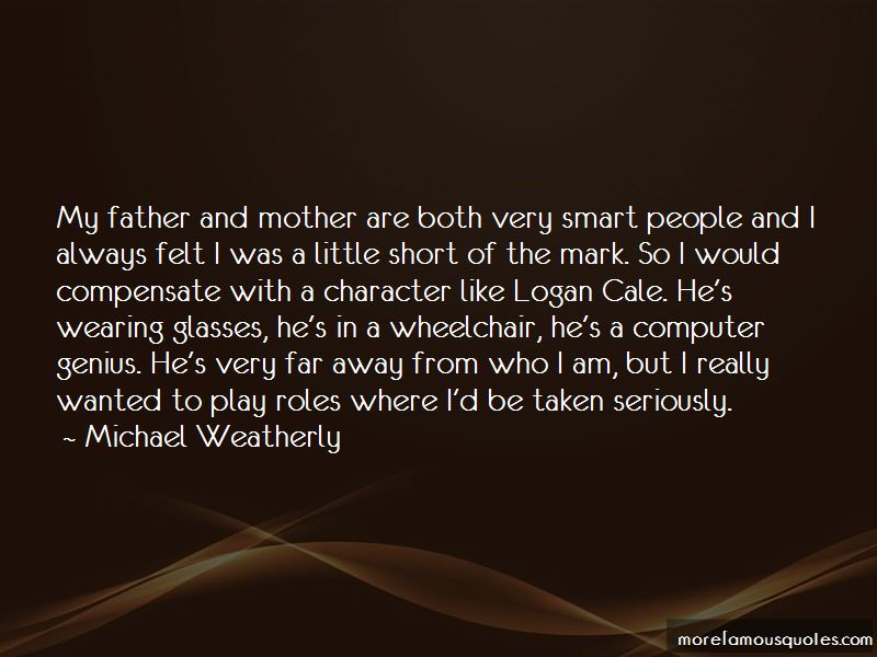 My Father And Mother Quotes