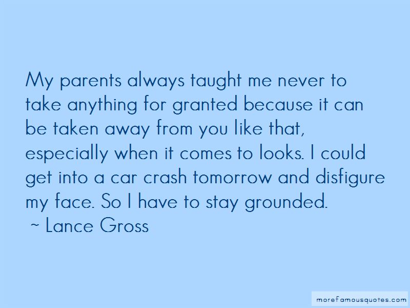 Never Take Parents For Granted Quotes Pictures 2