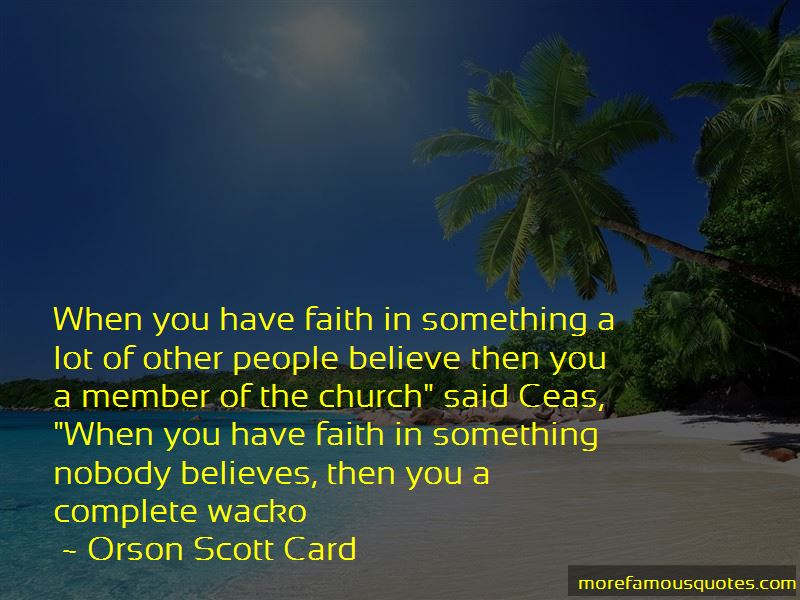 Nobody Believes In Me Quotes