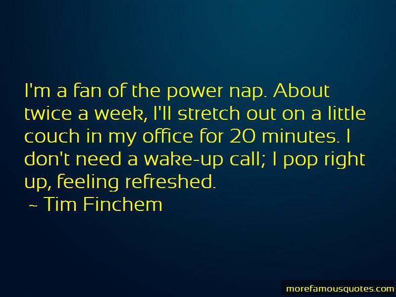 Power Nap Quotes