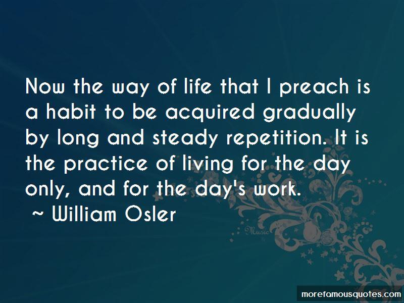 Practice Preach Quotes