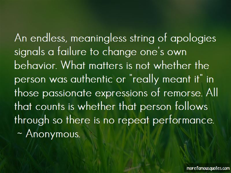 Repeat Behavior Quotes Pictures 2