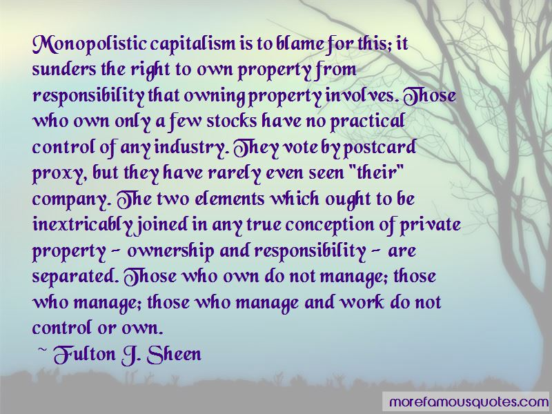 Responsibility And Ownership Quotes Pictures 2