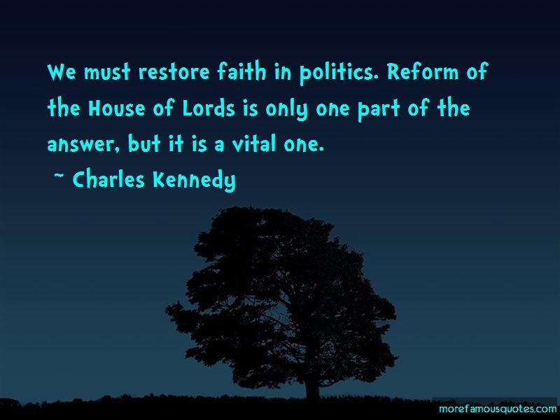 Restore Faith Quotes
