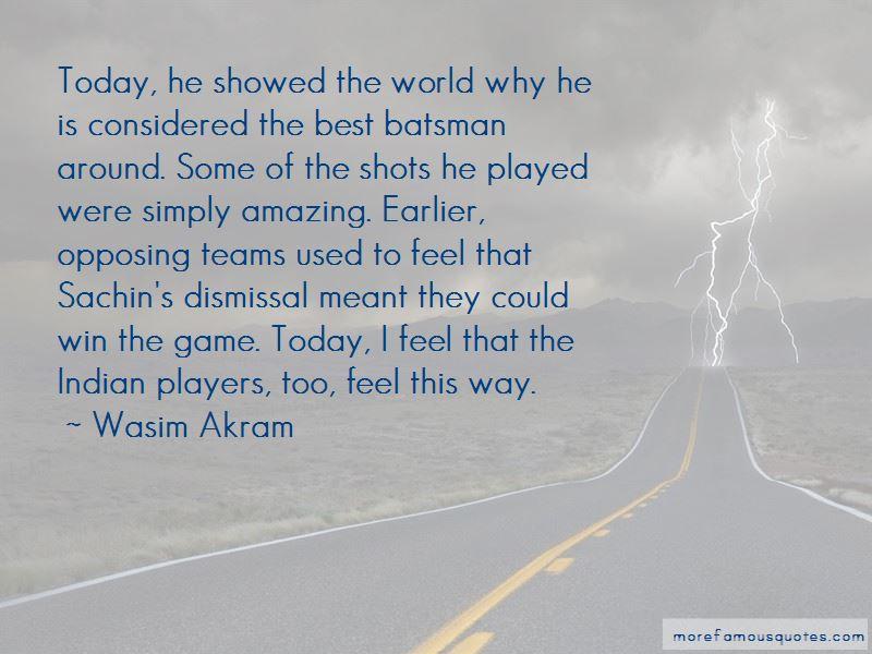 Sachin's Quotes