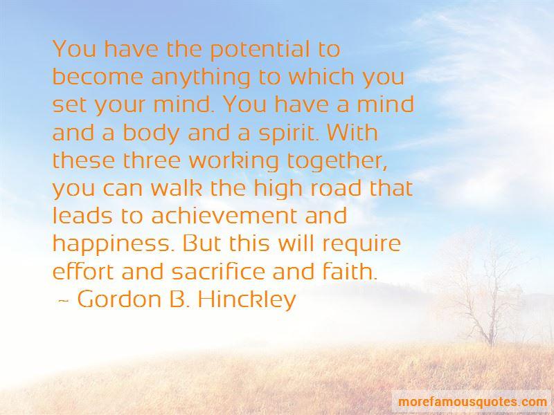 Sacrifice And Achievement Quotes Pictures 4