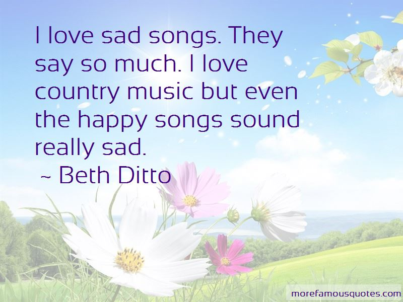 Sad Country Love Songs Quotes: top 4 quotes about Sad ...
