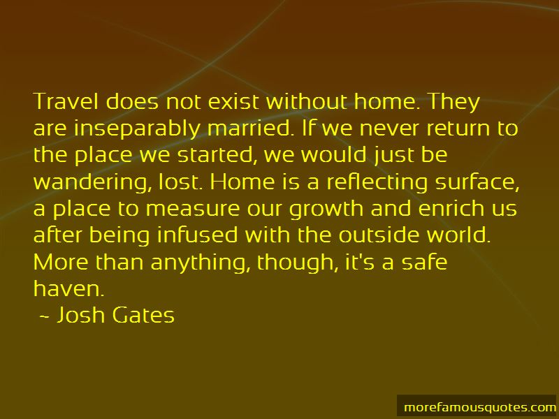 Safe Travel Home Quotes