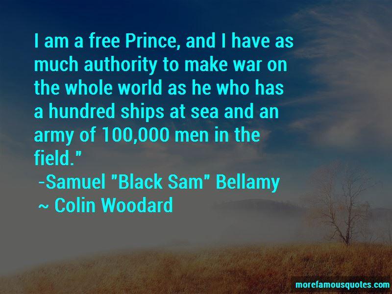 Sam Bellamy Quotes