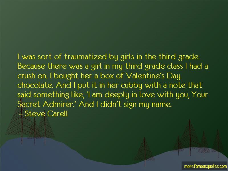Secret Admirer Love Quotes