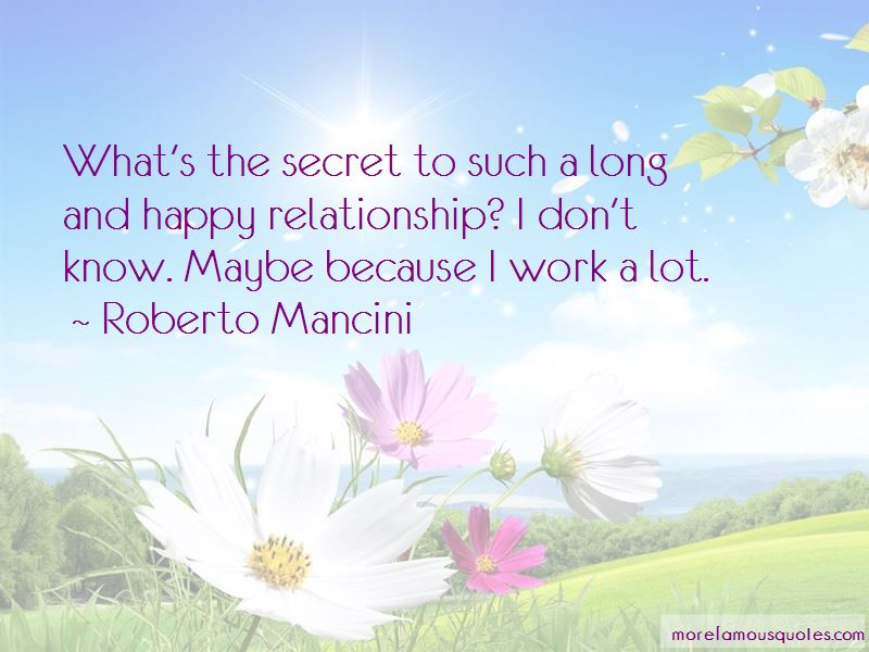 Secret To A Happy Relationship Quotes