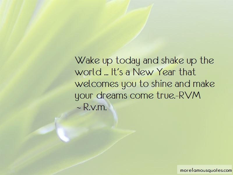 Shake Up The World Quotes