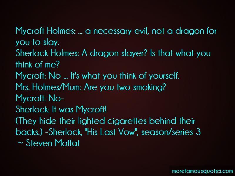 Sherlock His Last Vow Mycroft Quotes