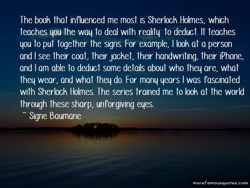 Sherlock Series Quotes