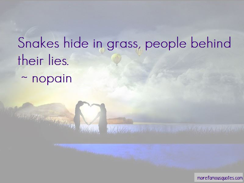 Snakes In Grass Quotes Pictures 3