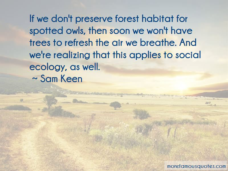 Social Ecology Quotes