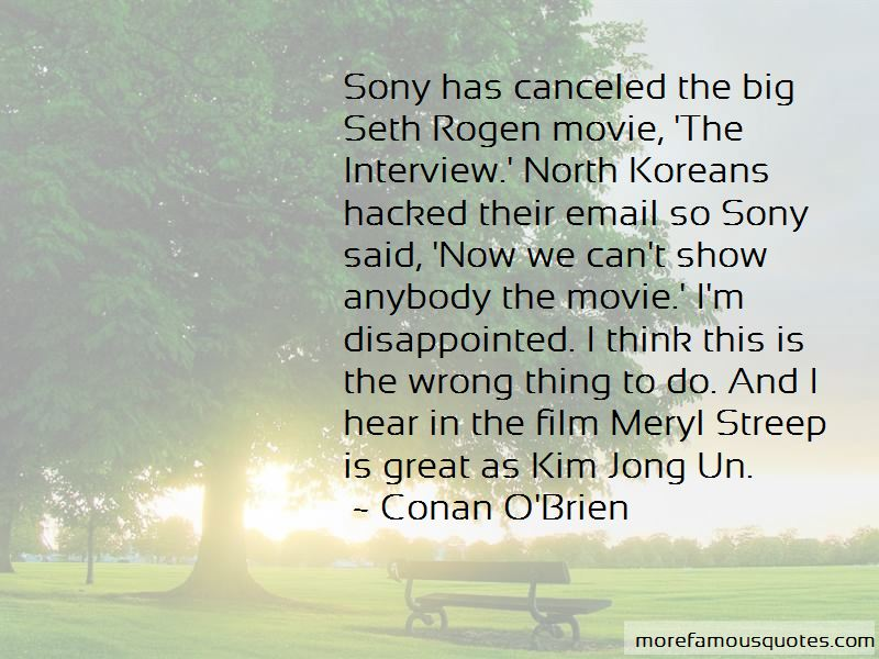 Sony Email Quotes