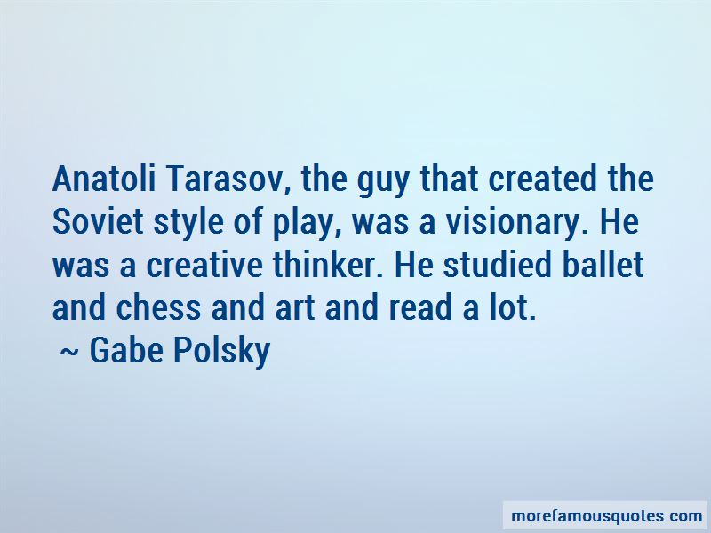 Tarasov Quotes