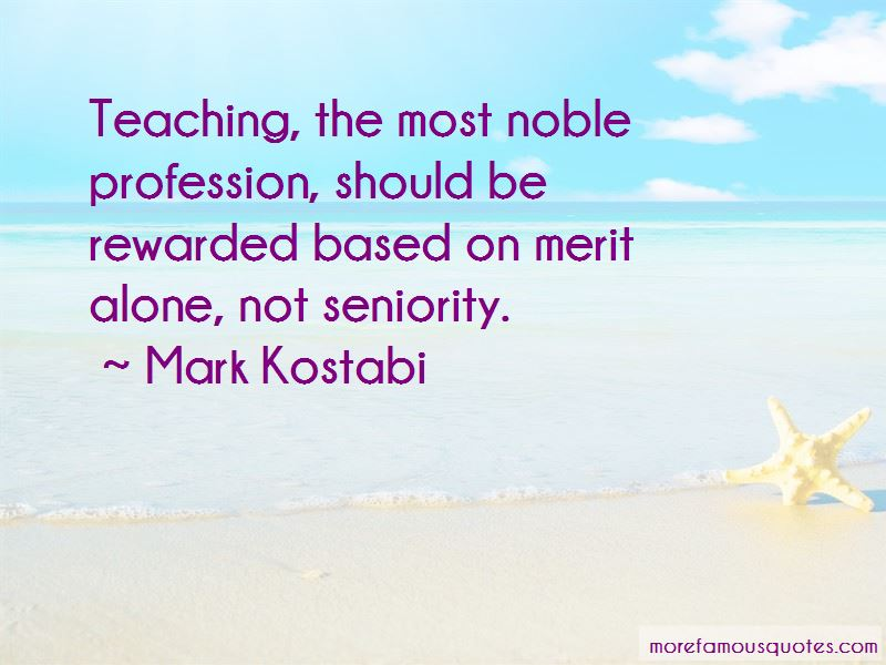 Teaching Noble Profession Quotes
