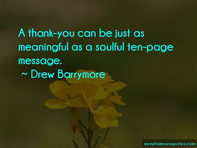 Thank You Meaningful Quotes