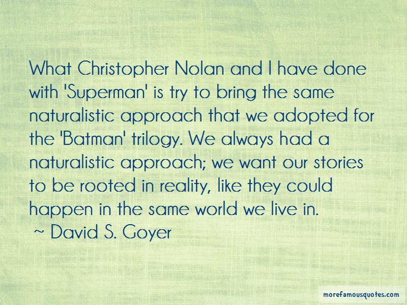 The Batman Trilogy Quotes