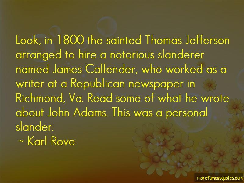 Thomas Jefferson Newspaper Quotes