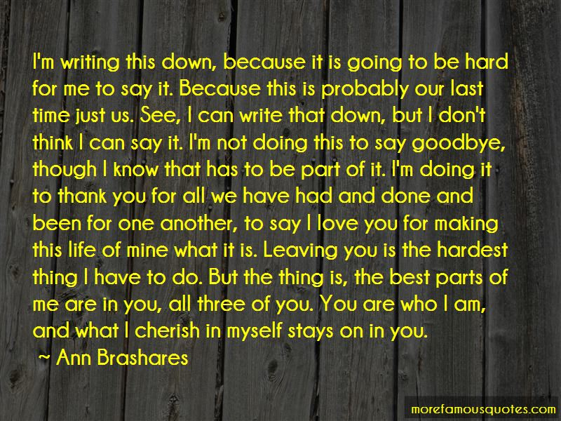 Time To Say Goodbye Love Quotes Pictures 2