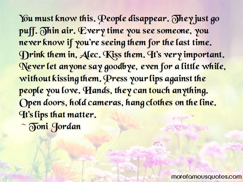 Time To Say Goodbye Love Quotes