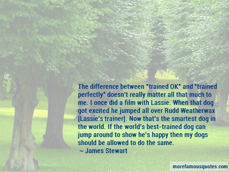 Trained Dog Quotes