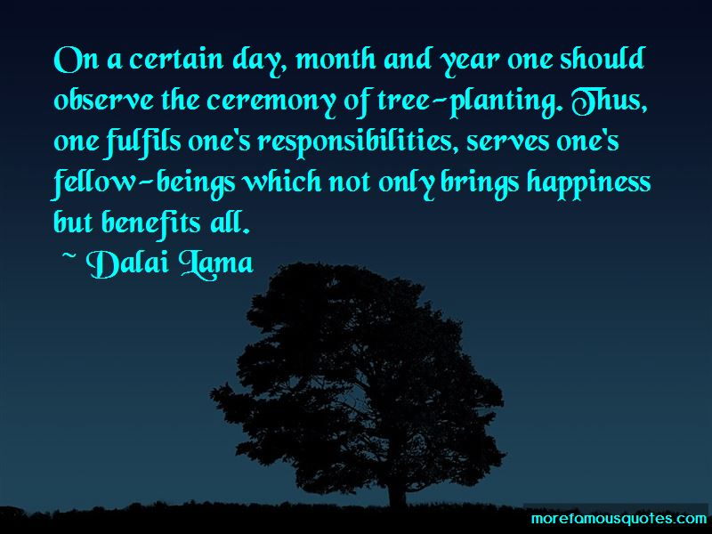 Tree Planting Day Quotes