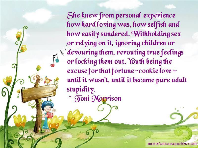 True Hard Love Quotes