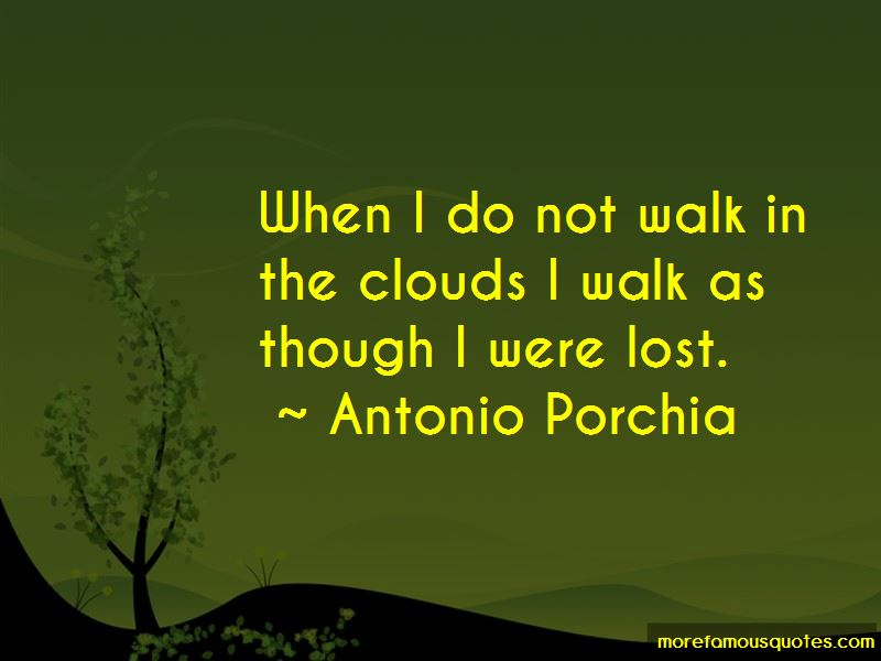 Walk In The Clouds Quotes