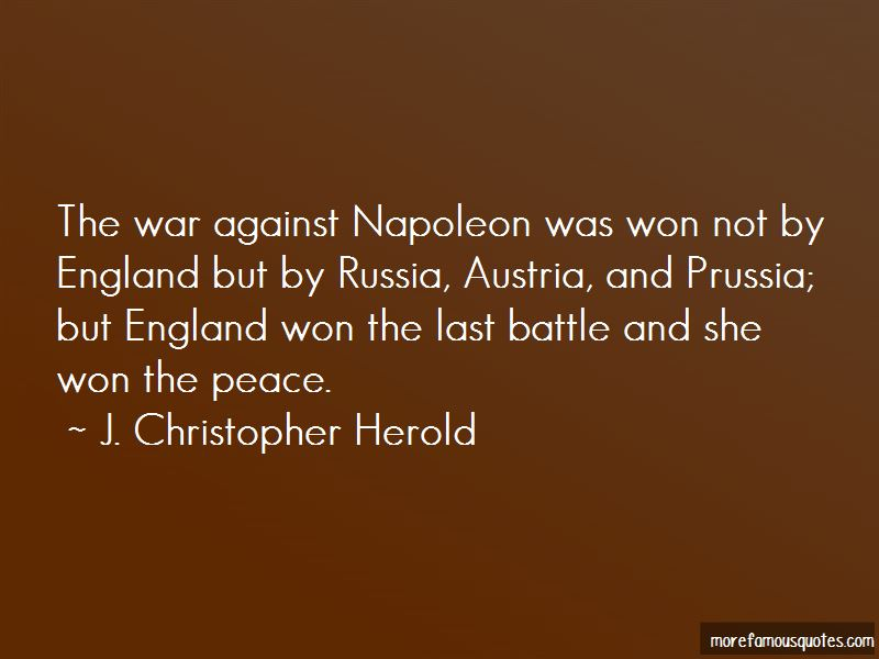 War And Peace Napoleon Quotes