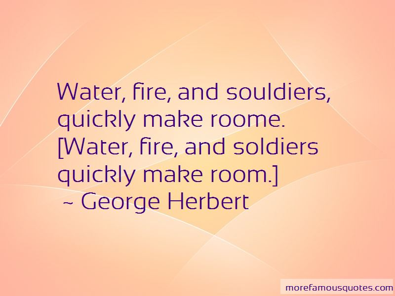 Water Fire Quotes