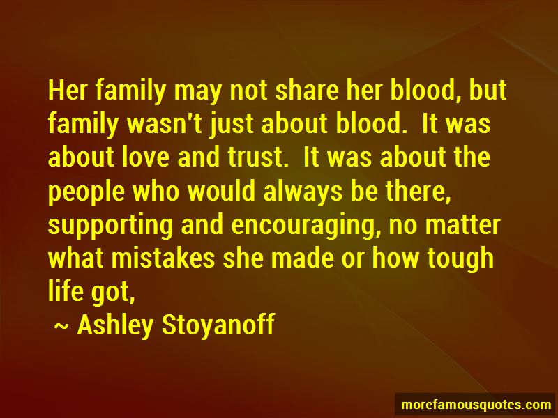 we not be family by blood quotes top quotes about we