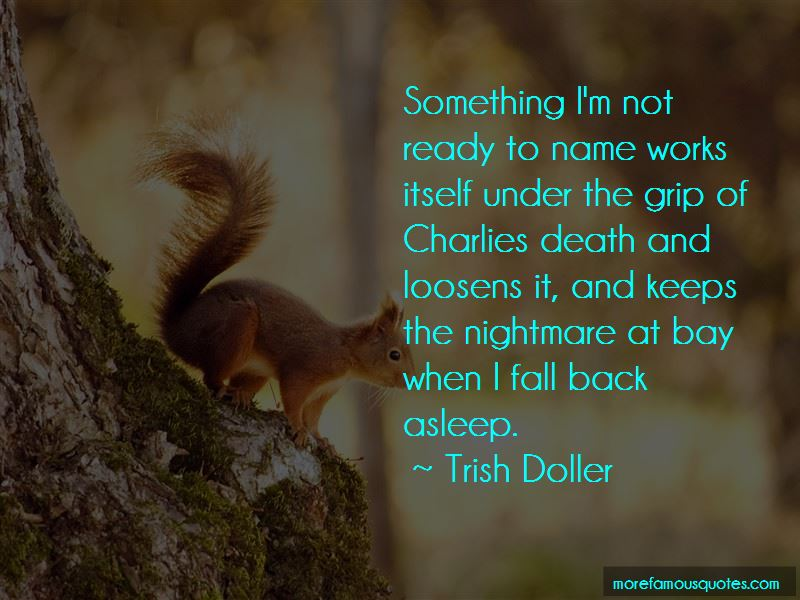 When I Fall Back Quotes