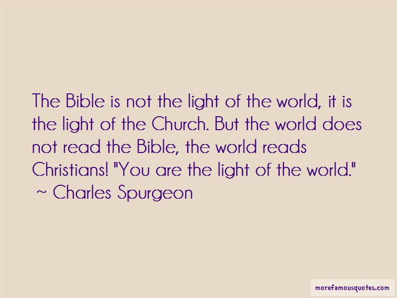 You Are The Light Of The World Quotes Pictures 3