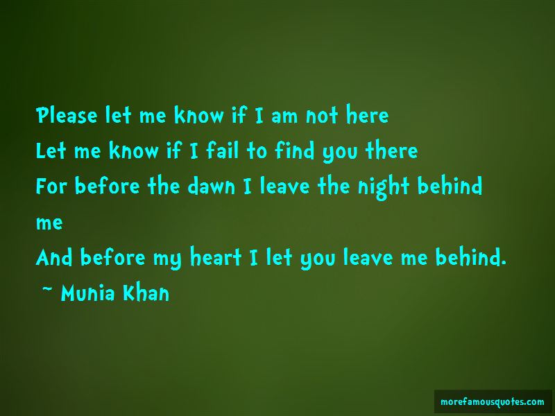 You Leave Me Behind Quotes Pictures 2