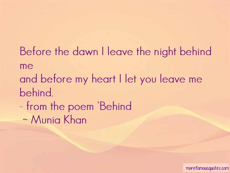 You Leave Me Behind Quotes Pictures 3