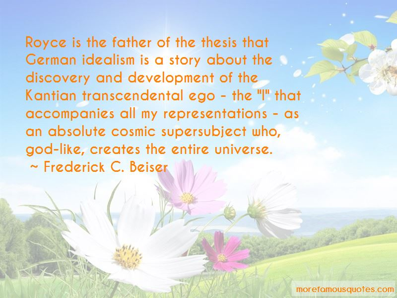 Absolute Idealism Quotes Pictures 4
