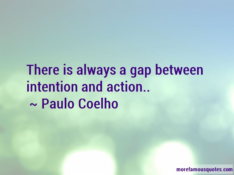 Action And Intention Quotes
