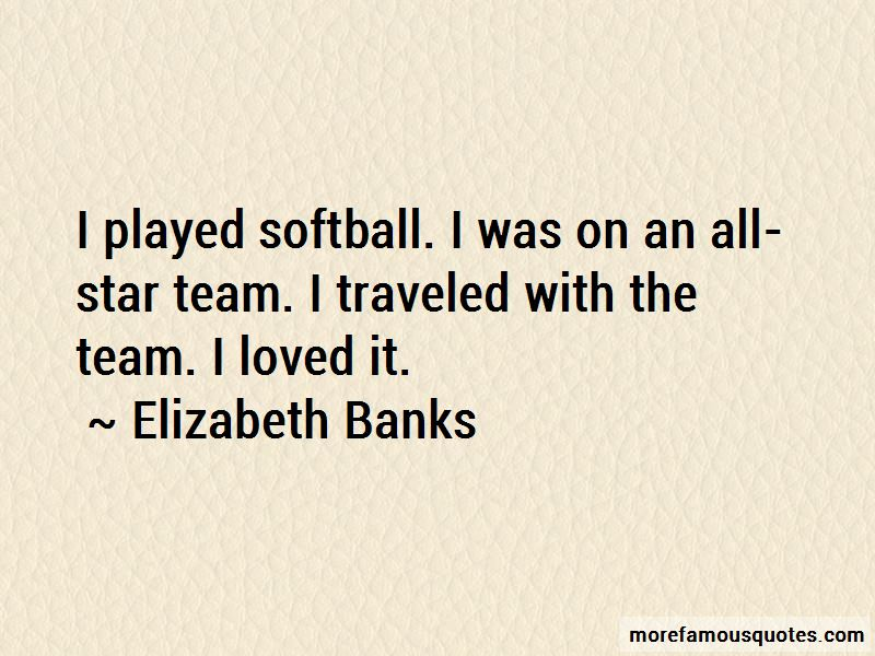 All Star Softball Quotes