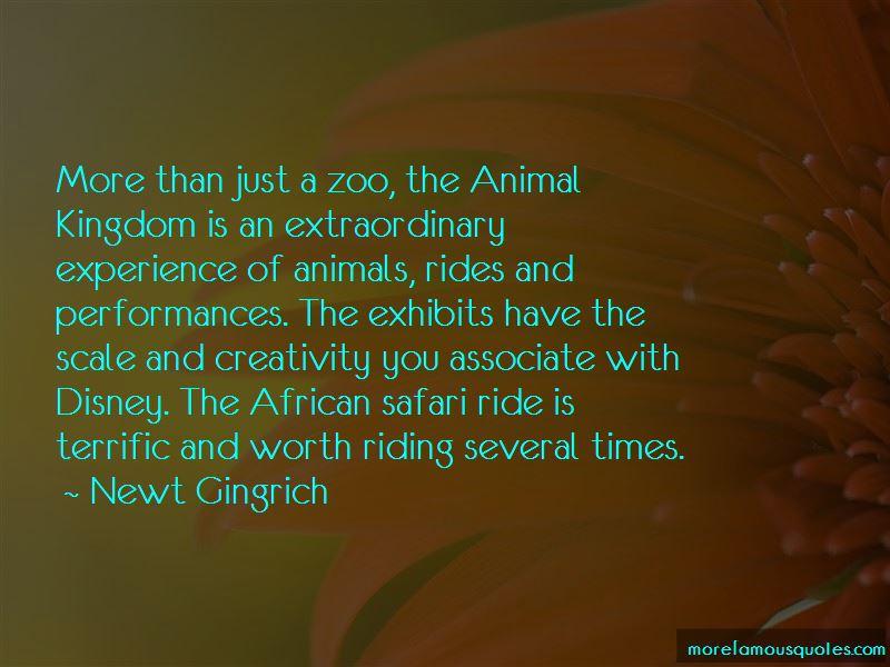 Animal Safari Quotes