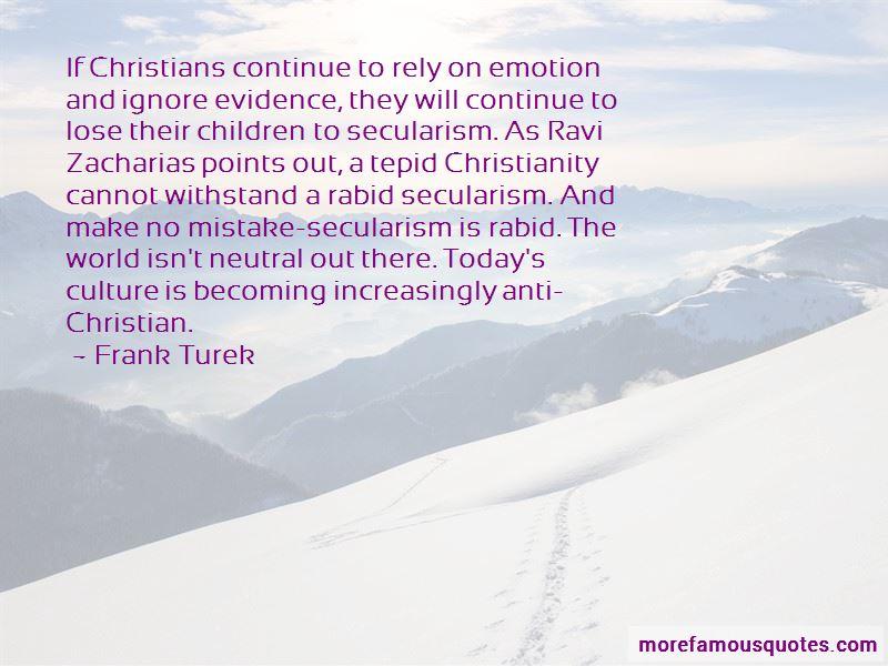 Anti Secularism Quotes