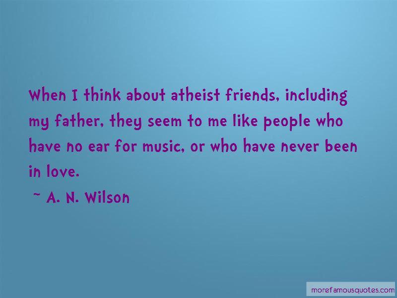 Atheist Love Quotes