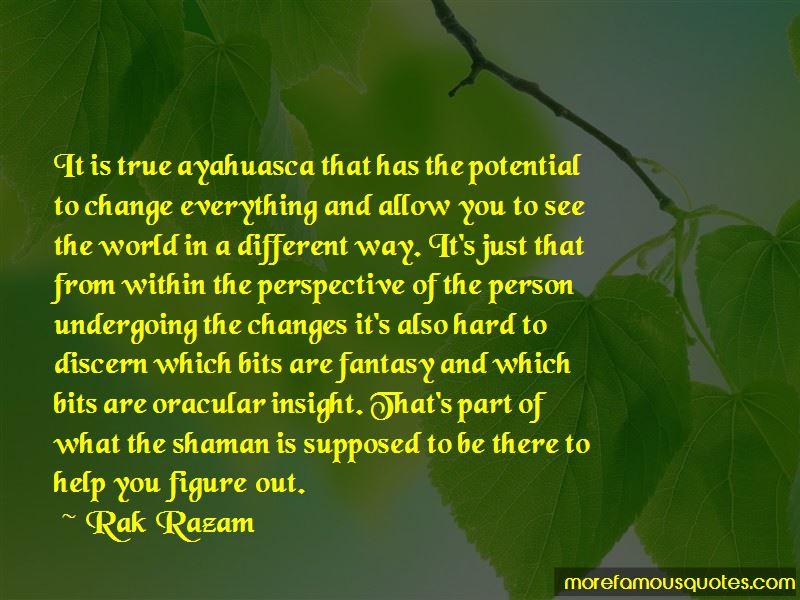 Ayahuasca Shaman Quotes