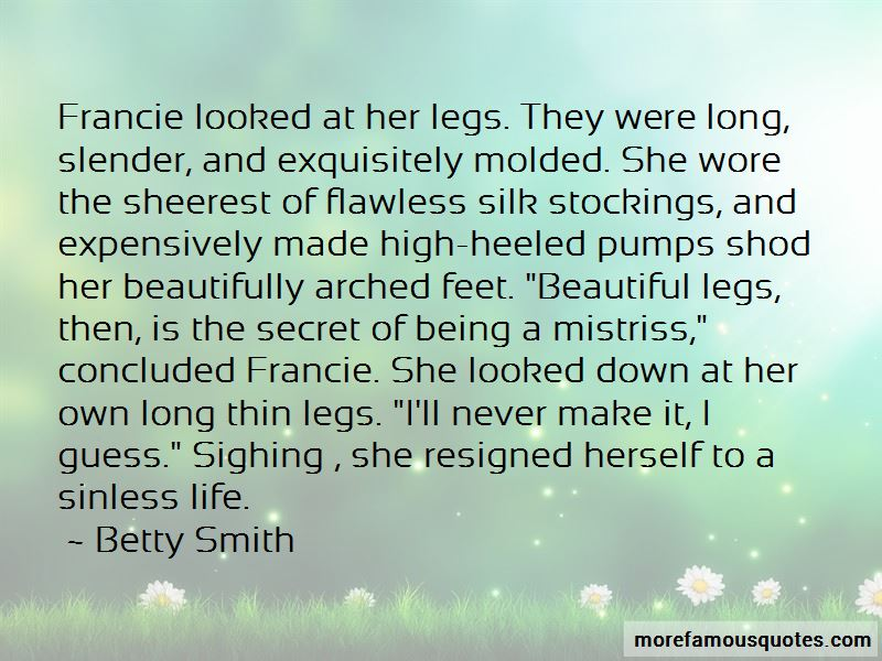 Beautiful Legs Quotes Pictures 2