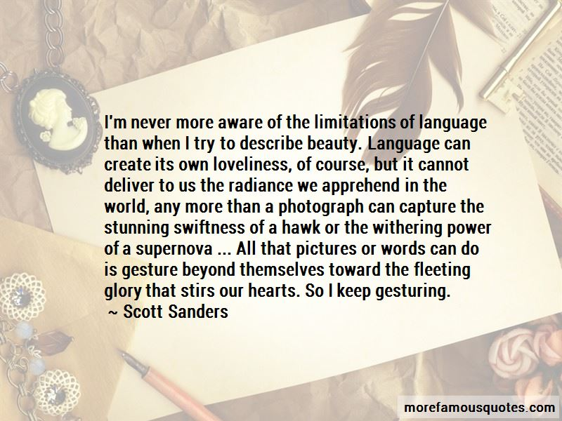 Beauty Beyond Words Quotes Pictures 3